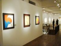 Экспозиция персональной выставки в